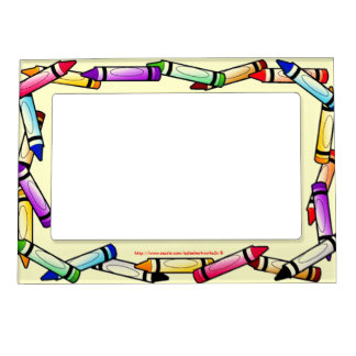 """Crayon"" Magnetic Photo Frame"