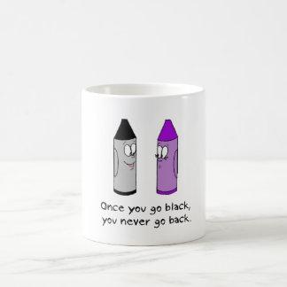 Crayon pick-up lines magic mug