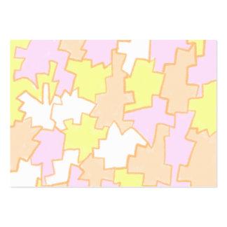 Crayon Pieces pocket calendar 2012 Large Business Card