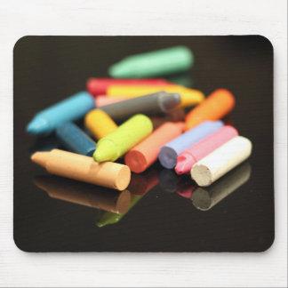 Crayon Pile Mouse Pad