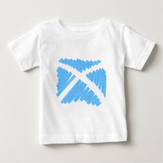 Crayon Saltire Tee Shirt