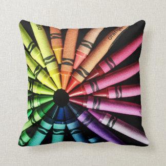 Crayon Wheel Pillow