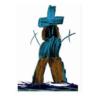 CrayonMan Postcard
