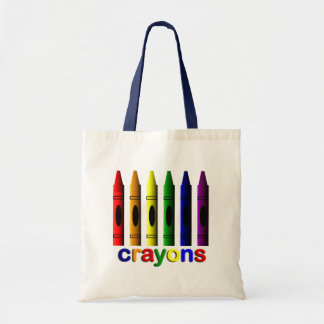 Crayons Art for Children Tote Bag