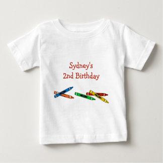 Crayons Birthday Kid's T-Shirt