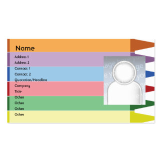 Crayons - Business Business Card
