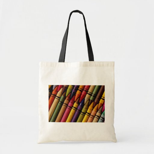 Crayons Canvas Bags