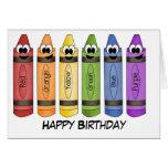 Crayons Cards
