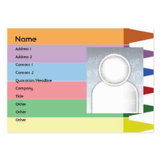 Crayons - Chubby Large Business Card