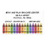 Crayons Daycare Center Business Card