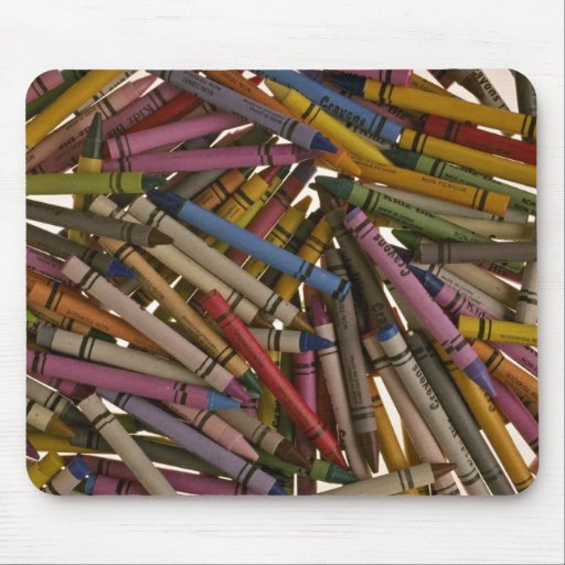 Crayons for kids mousepads