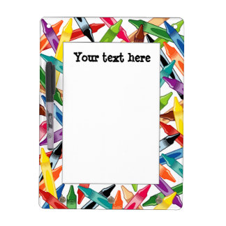 Crayons Frame Dry Erase Board