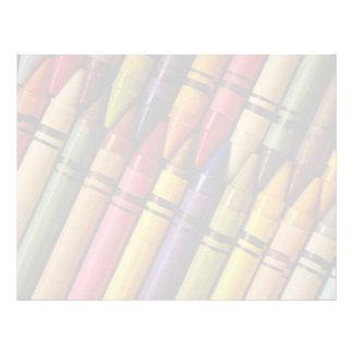 Crayons Letterhead
