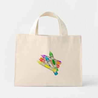 Crayons Mini Tote Bag