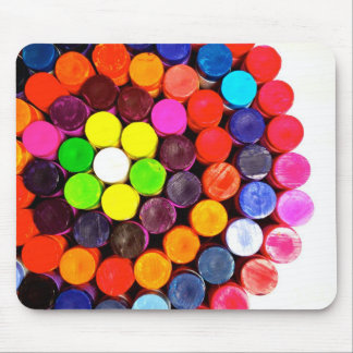 Crayons Mouse Pad