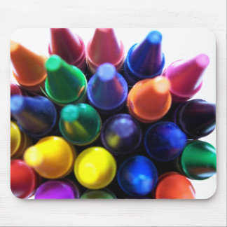 Crayons! Mouse Pad