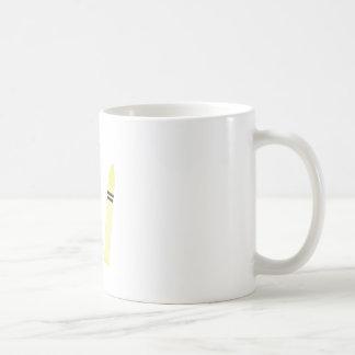 Crayons Classic White Coffee Mug