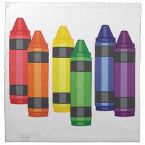 Crayons Napkin