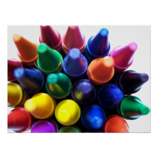 Crayons! Poster