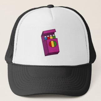 crayons trucker hat