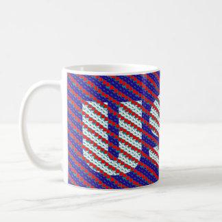 CraZchet USA Classic White Coffee Mug