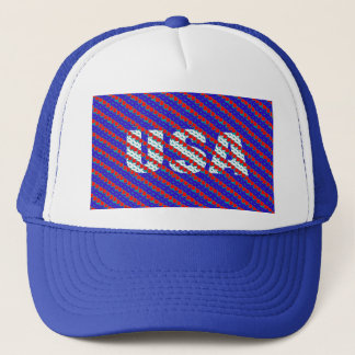 CraZchet USA Trucker Hat