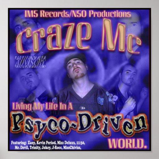 Craze MC Album #2 Poster