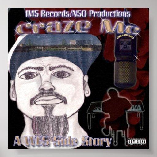 Craze MC Album #3 Poster