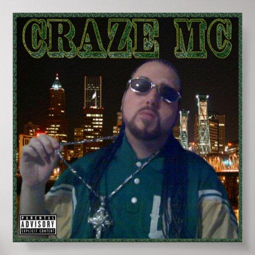 Craze MC Poster