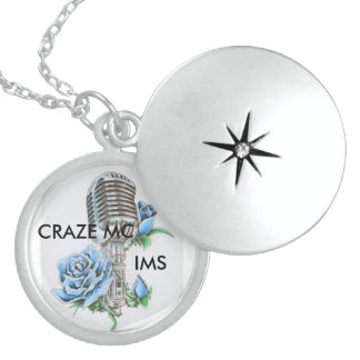 Craze MC real sterling silver locket necklace