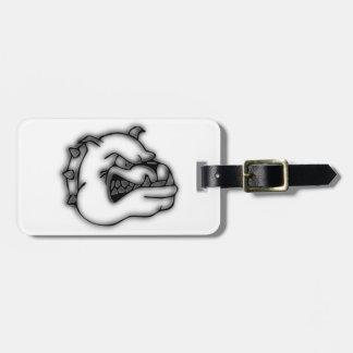 Crazed Bulldog Bag Tag