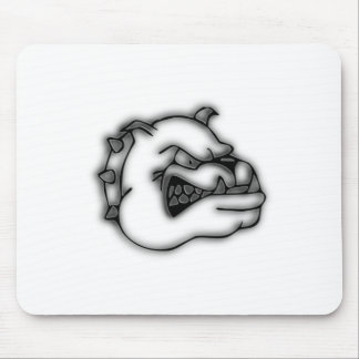 Crazed Bulldog Mouse Pad