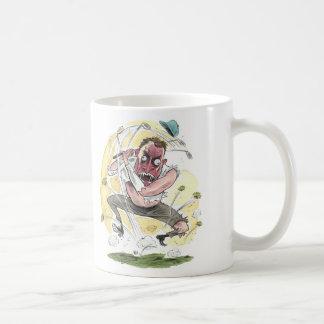 Crazed Golfer Coffee Mug