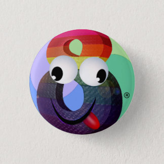 Crazy8 Pinback Button