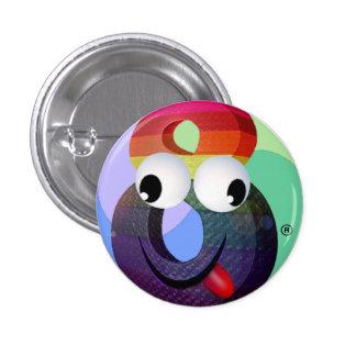 Crazy8 Pinback Button