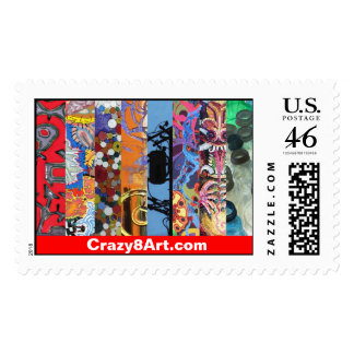 Crazy8Art Postage Stamp