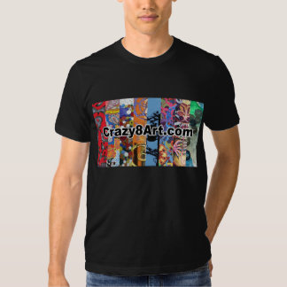 Crazy8Art T-shirt Black