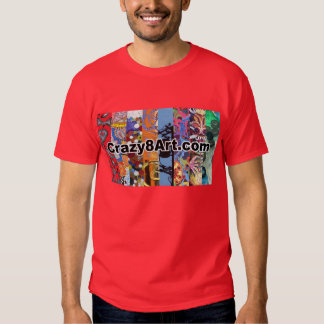 Crazy8Art T-shirt Red