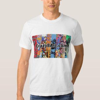 Crazy8Art T-shirt White