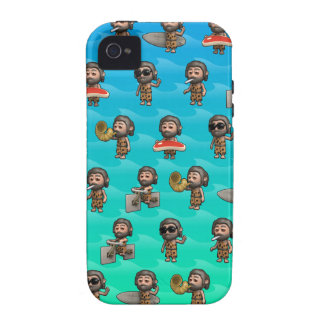Crazy 3d Caveman Variety, cool! Case-Mate iPhone 4 Case