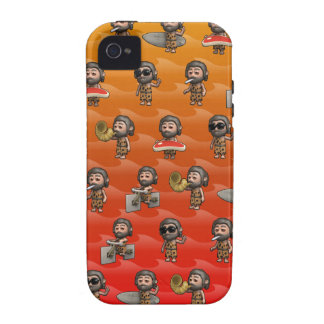 Crazy 3d Caveman Variety, cool! iPhone 4/4S Case