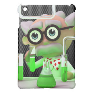 Crazy 3d Mad Scientist Lab Cover For The iPad Mini