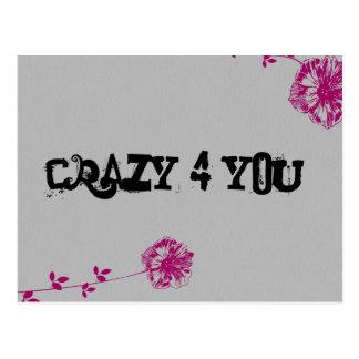 Crazy 4 You! Postcard