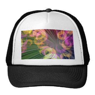 crazy 70s disco mesh hats