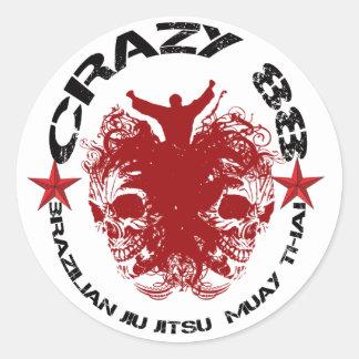 CRAZY 88 - TAG 1 STICKER