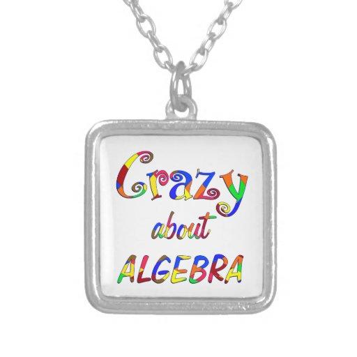 Crazy about Algebra Necklace
