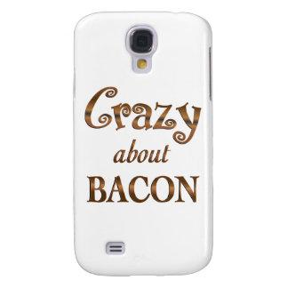 Crazy About Bacon Galaxy S4 Case