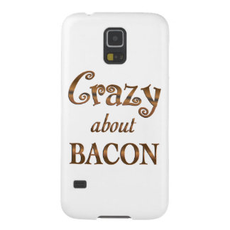 Crazy About Bacon Galaxy S5 Covers