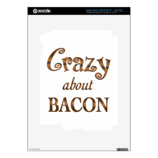 Crazy About Bacon iPad 3 Skin