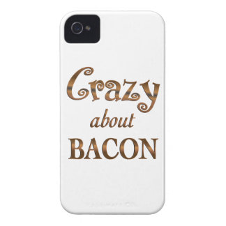 Crazy About Bacon iPhone 4 Case-Mate Case
